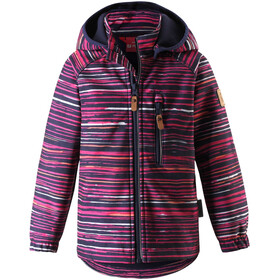 Reima Vantti Softshell Jacke Kinder deep purple